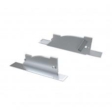 Заглушка для ALM-ARC-SINGLE серая левая с отверстием, упаковка 2 штуки, Arlight, 026793