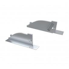 Заглушка для ALM-ARC-SIDE серая левая с отверстием, упаковка 2 штуки, Arlight, 026791