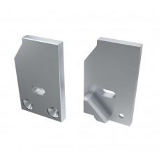 Заглушка для ALM-GLASS-10 левая с отверстием, упаковка 2 штуки, Arlight, 026734