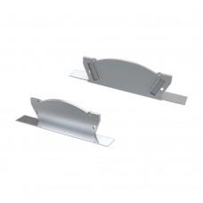 Заглушка для ALM-ARC-DOUBLE серая с отверстием, упаковка 2 штуки, Arlight, 026795