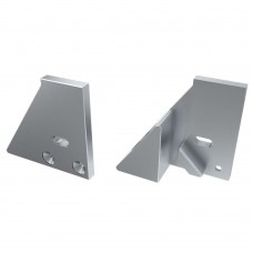Заглушка для ALM-GLASS-10 с опорой левая с отверстием, упаковка 2 штуки, Arlight, 026738