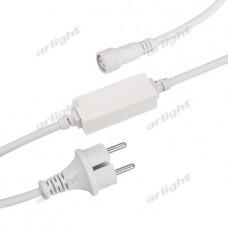 Шнур питания ARD-CLASSIC-STD-1.5M White (230V, 1.6A), Arlight, 025884
