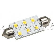 Автолампа ARL-F42-6E Warm White 10-30V, 6 LED 2835, Arlight, 019422
