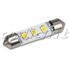 Автолампа ARL-F37-3E Warm White 10-30V, 3 LED 2835, Arlight, 019430