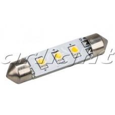 Автолампа ARL-F42-3E White 10-30V, 3 LED 2835, Arlight, 019423