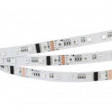 Лента DMX-5000-5060-60 24V Cx6 RGB (12mm, 12.5W, IP20), бобина 5 метров, Arlight, 024455(1)
