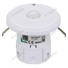 INTELLIGENT ARLIGHT Датчик движения KNX-305-IN (BUS, 5m*10m), Arlight, 025672