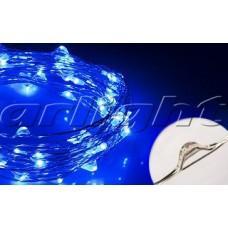 Светодиодная нить WR-5000-12V-Blue (1608, 100LED), Arlight, 017995 ,катушка 5 метров