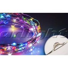 Светодиодная нить WR-5000-12V-RGB (1608, 100LED), Arlight, 018005 ,катушка 5 метров