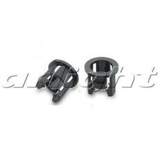 H51 Держатель 5мм (чёрный PP, с зацепками), Arlight, 004786 ,упаковка 5000 штук