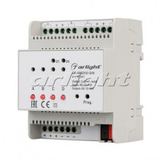 Диммер SR-KN0310-DIN (12-36V, 4x4A), Arlight, 023041