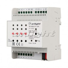 Контроллер тока SR-KN041CC-DIN (12-48V, 4x350/700mA), Arlight, 023042