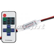 Диммер LN-RF11B-MINI-Wires(12-24V,72-144W,ПДУ11кн), Arlight, 017539