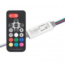 Контроллер ARL-FINE-RGB Black (5-24V, 3x2A, RF ПДУ 18кн), Arlight, 027197