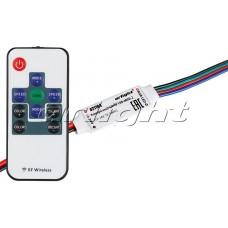 Контроллер LN-RF10B-MINI-2 (12-24V,72-144W, ПДУ 10кн), Arlight, 021164