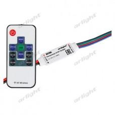 Контроллер LN-RF11B-MINI-RGB (12-24V, 3x2A, ПДУ Карта 11 кн), Arlight, 025114