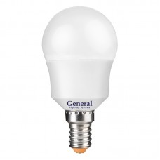 Лампа светодиодная GLDEN-G45F-10-230-E14-4500, упаковка 10 штук, General, GNL683400