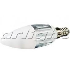 Светодиодная лампа E14 4W Candle-BS35D Day White, Arlight, 015815
