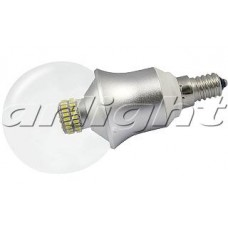 Светодиодная лампа E14 CR-DP-G60 6W Warm White, Arlight, 015988