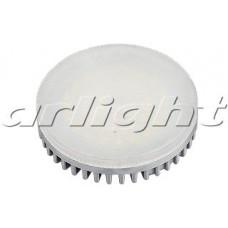 Светодиодная лампа GX53-42E-8W-220V White ALU/G, Frost, Arlight, 017008