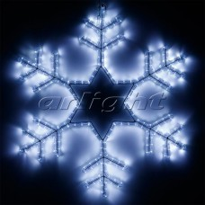 "Светодиодная фигура ""СНЕЖИНКА"" ARD-SNOWFLAKE-M4-750x750-324LED White (230V, 18W), Arlight, 025307"