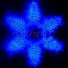 "Светодиодная фигура ""СНЕЖИНКА"" ARD-SNOWFLAKE-M2-940x940-576LED Blue (230V, 32W), Arlight, 025305"