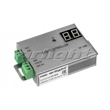 Контроллер HX-805 (2048 pix, 5-24V, SD-карта, ПДУ), Arlight, 016999
