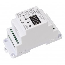 Конвертер SMART-K29-DMX512 (230V, 1x2A, TRIAC, DIN), Arlight, 027131