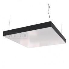 Дизайнерский светодиодный светильник RVE-LBX-BOX-1000-P (квадрат 1000x1000x120мм 108Вт)