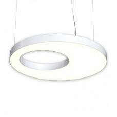 Дизайнерский светодиодный светильник RVE-LBX-APERTURA-1000-P (Круг с отверстием 1000x1000x100мм 63Вт)