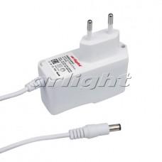 Блок питания для светодиодной ленты ARDV-18-12AW-J3.5mm (12V, 1,5A, 18W), Arlight, 020353