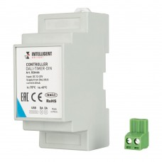 INTELLIGENT ARLIGHT Контроллер DALI-TIMER-DIN (DALI-BUS, RTC), Arlight, 026466