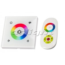 Панель Sens LN-082-RGB White (RF,12-24V, 144-288W), Arlight, 017958