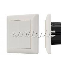 Панель Knob SR-KN0200-IN White (KNX, DIM), Arlight, 023845