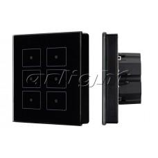 Панель Sens SR-KN0611-IN Black (KNX, DIM), Arlight, 023038