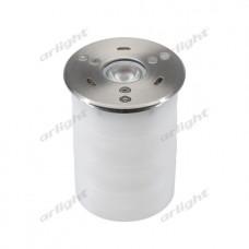 Подводный светодиодный светильник KT-AQUA-COLOR-R85-9W RGB (SL, 25 deg, 12V), Arlight, 024939