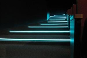 Профиль для ступеней кинотеатров ЛЕД-СТЕП 66, 6 метров