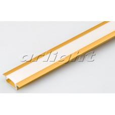 Алюминиевый Профиль MIC-F-2000 ANOD Gold Deep, 2 метра , Arlight, 017649