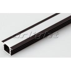 Алюминиевый Профиль PDS-F-2000 ANOD Brown Deep, 2 метра , Arlight, 017653
