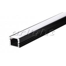 Алюминиевый Профиль PDS-S-2000 ANOD Black, 2 метра , Arlight, 020896