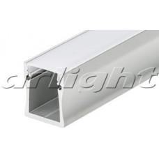 Профиль с экраном ALU-WIDE-H28-2000 ANOD+FROST, 1 комплект , Arlight, 014858