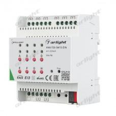 INTELLIGENT ARLIGHT Релейный модуль KNX-708-SW10-DIN (BUS, 8x10A), Arlight, 025665