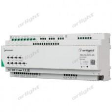 INTELLIGENT ARLIGHT Релейный модуль KNX-724-SW10-DIN (BUS, 24х10A), Arlight, 025664