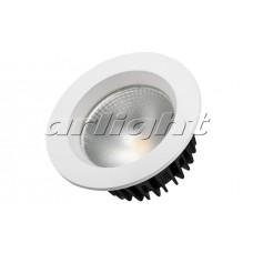 Светодиодный светильник LTD-105WH-FROST-9W Warm White 110deg, Arlight, 021067
