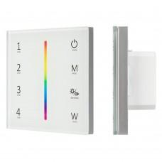 Панель Sens SMART-P45-RGBW White (230V, 4 зоны, 2.4G), Arlight, 028140