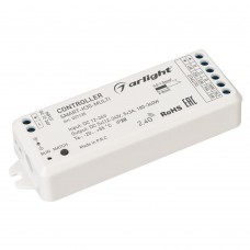 Контроллер SMART-K30-MULTI (12-24V, 5x3A, RGB-MIX, 2.4G), Arlight, 027135