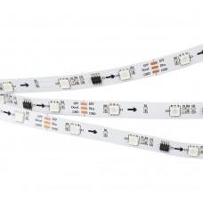 Лента SPI-5000-5060-30 12V Cx3 RGB (10mm, 7.2W, IP20), бобина 5 метров, Arlight, 026368(1)