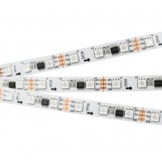 Лента SPI-5000-5060-60 12V Cx3 RGB (10mm, 14.4W, IP20), бобина 5 метров, Arlight, 026367(1)