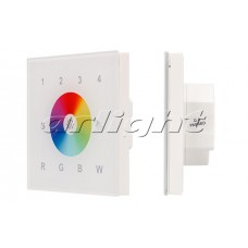 Панель Sens SR-2820AC-RF-IN White (220V,RGBW,4зоны, Arlight, 017857