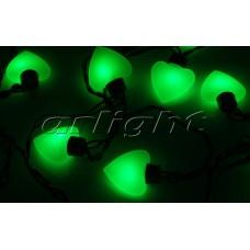 Гирлянда ARL-HEART-5000-20LED Green (220V, 5W), Arlight, 019836 , 1 штука